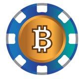 BitCoin symbolsdesign stock illustrationer