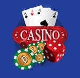 BitCoin Theme Design Royalty Free Stock Image