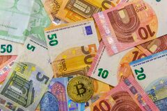 Bitcoin together other current money from Europe. New forms of investment. Digital money