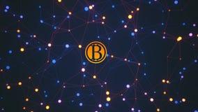 Bitcoin transakcje royalty ilustracja