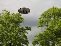 Bitcoin ufo Fotografia Stock
