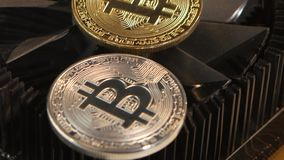 Bitcoin is a valuable currency in the country. Will improve the economy stock video footage