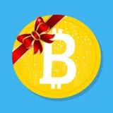 Bitcoin Valuta di Digital Fotografia Stock