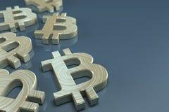 Bitcoin valutabegrepp Arkivbild