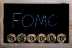 Bitcoin waluty crypto pojęcie zdjęcie stock