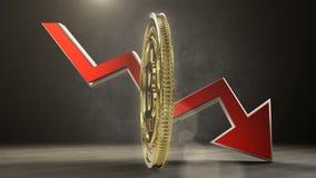 Bitcoin wartości zmniejszania 3 d czynią zbiory