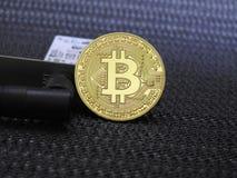 Bitcoin Wifi Images libres de droits