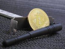 Bitcoin Wifi Image stock