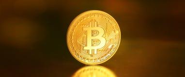 Bitcoins,位硬币BTC新的真正金钱 免版税库存图片