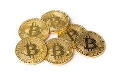 Bitcoins стоковое фото