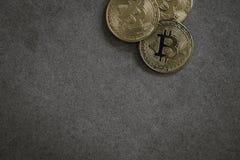 Bitcoins, натюрморт cryptocurrency стоковое фото