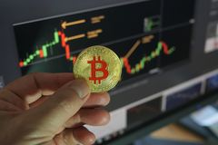 Bitcoins Lizenzfreie Stockbilder