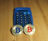 Bitcoins stock fotografie