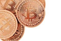 Bitcoins Стоковое Изображение RF