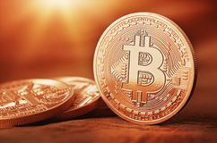Bitcoins Stockbild