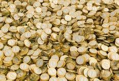 Bitcoins 免版税库存照片