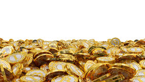 Bitcoins Lizenzfreies Stockbild
