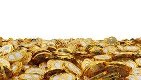 Bitcoins Image libre de droits