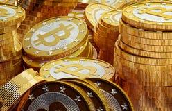 Bitcoins Royalty Free Stock Photo
