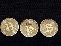 Bitcoins 免版税库存图片