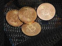 Bitcoins Стоковые Изображения RF