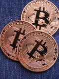 Bitcoins Стоковое фото RF