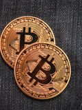 Bitcoins 库存图片