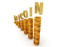 Bitcoins Illustrazione Vettoriale