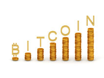 Bitcoins Royalty Illustrazione gratis