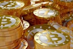Bitcoins Stock Image