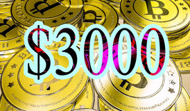 Bitcoins Royalty Free Stock Images