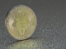 Bitcoins - moedas do cryptocurrency Fotos de Stock Royalty Free