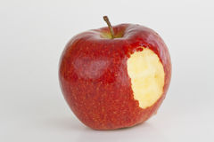 Bite of Apple Stock Photography