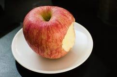Bite apple Stock Photography