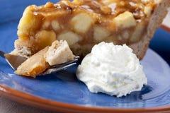 Bite of Apple Pie Stock Photo