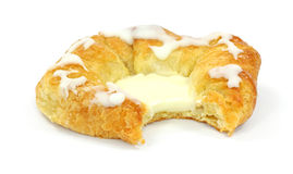 Bite Cheese Danish Stock Image