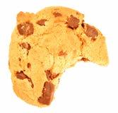 bite cookie Στοκ Φωτογραφίες