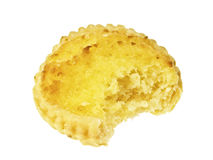 Bite on pie Royalty Free Stock Images