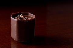 Bite size chocolate Royalty Free Stock Image