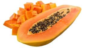 Bite Size Papaya Fruit IV Stock Photo