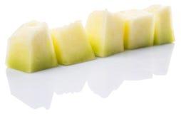 Bite Sized Honeydew Fruit III Stock Images
