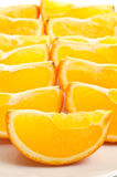 Bite sized orange Stock Images