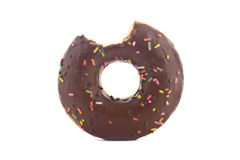 Bited Donut Stock Photography