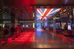 Bitelsi miłości przedstawienia kasa teatralna przy mirażem w Las Vegas, NV na A fotografia royalty free