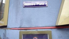 Bitelsi Platz szyldowy talerz, Hamburg, Niemcy zbiory