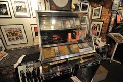 Bitelsi robi zakupy w Liverpool mathew ulicie Zdjęcie Royalty Free