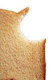 biten brödrostat bröd royaltyfri bild