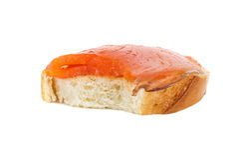 biten smörgås Royaltyfri Bild