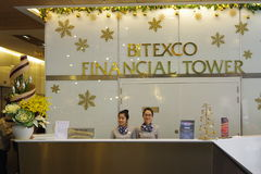 Bitexco Financial Tower Royalty Free Stock Images