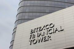 Bitexco Finanzkontrollturm, Ho Chi Minh Stadt, Vietnam Stockbilder